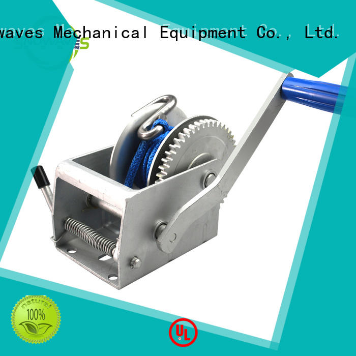 Snowaves Mechanical hand winches company for camping