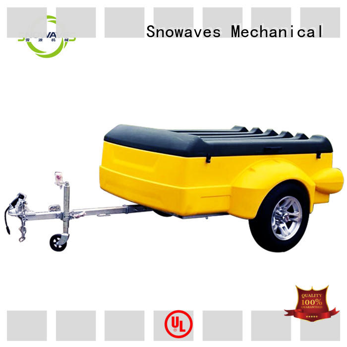 Snowaves Mechanical Wholesale luggage trailer for sale for outdoor activities