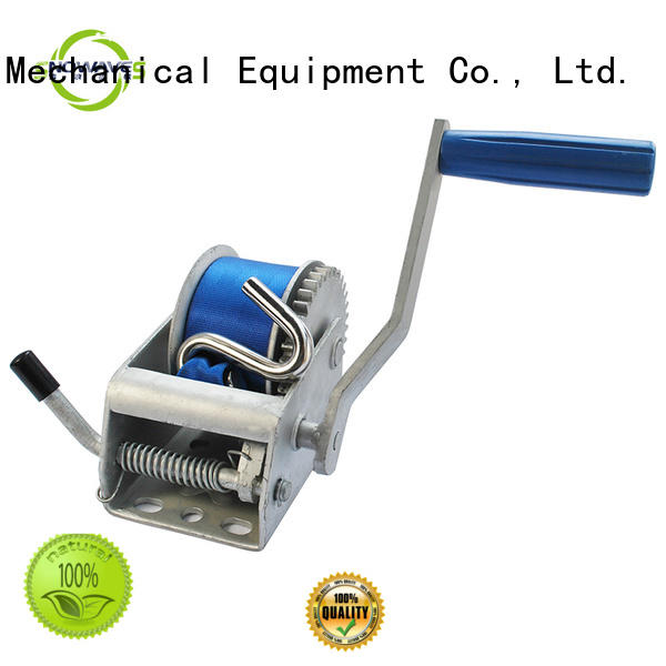 Snowaves Mechanical Wholesale manual winch company for car