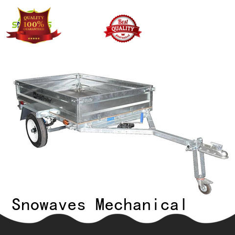 Snowaves Mechanical trailer folding trailers company for camp