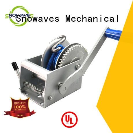 Snowaves Mechanical nice hand powered winch from manufacturer for outings