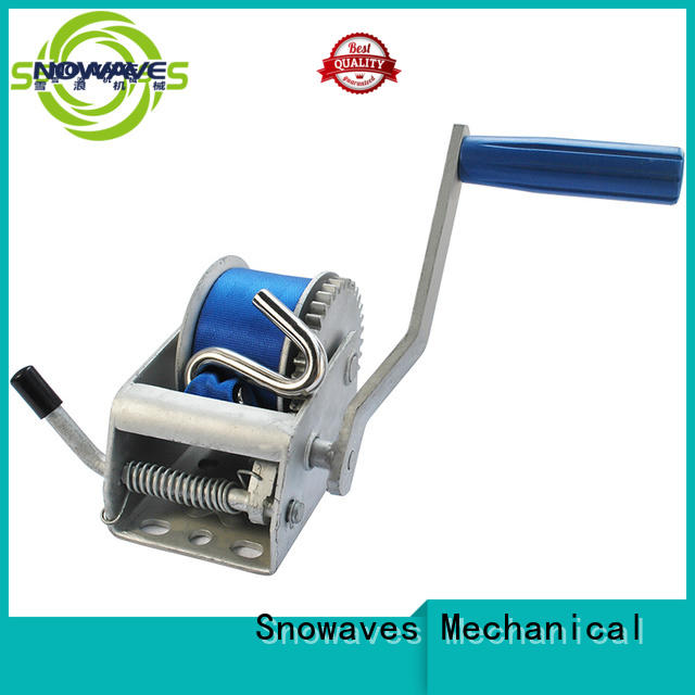 Snowaves Mechanical winch hand winches for business for camping