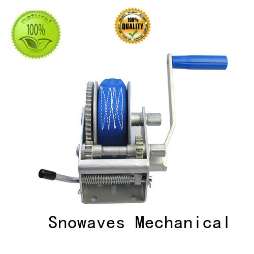 Snowaves Mechanical High-quality boat hand winch Suppliers for camping