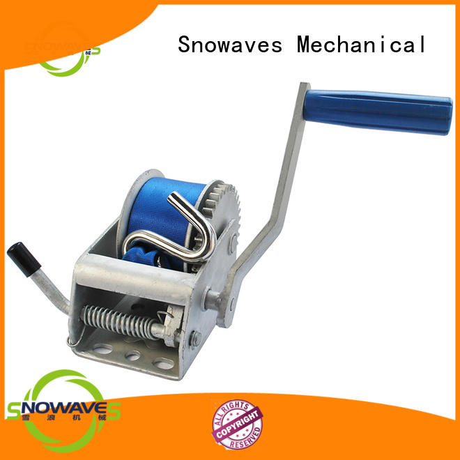 Snowaves Mechanical speed manual trailer winch supply for car