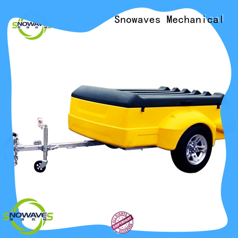 trailers plastic dump trailer trailer for no cable Snowaves Mechanical