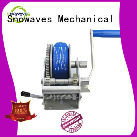Snowaves Mechanical pulling manual trailer winch supply for camping
