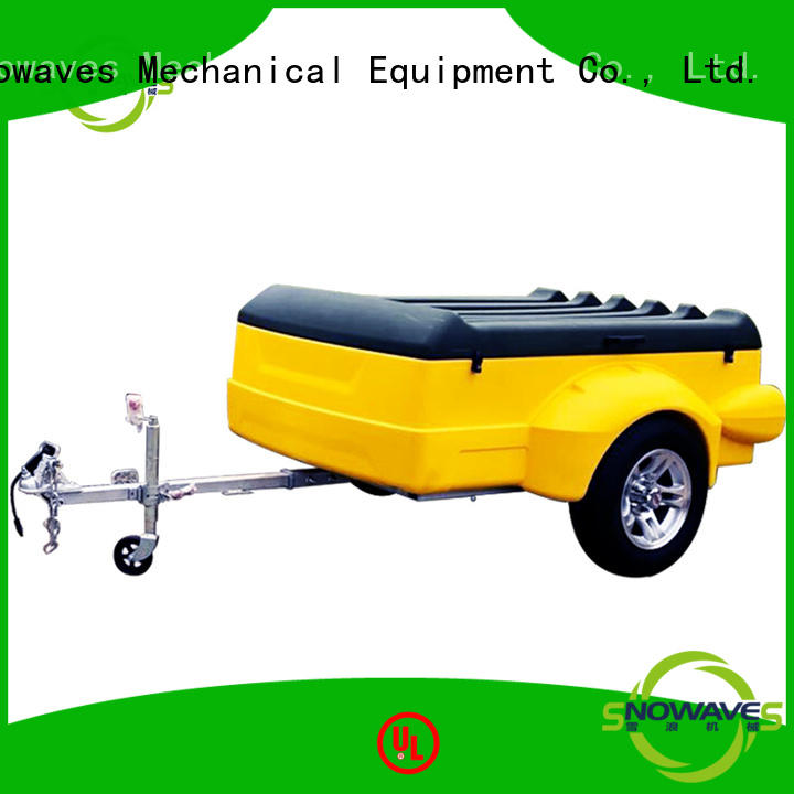 Snowaves Mechanical Brand towbal camper luggage trailer luggage factory