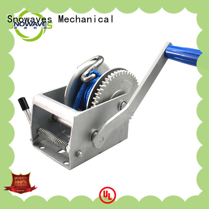 Snowaves Mechanical hand manual winch Supply for outings