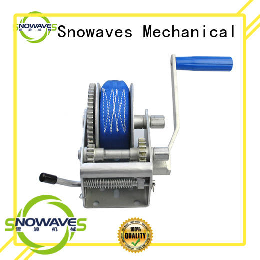 Snowaves Mechanical high-quality manual trailer winch pulling for camping