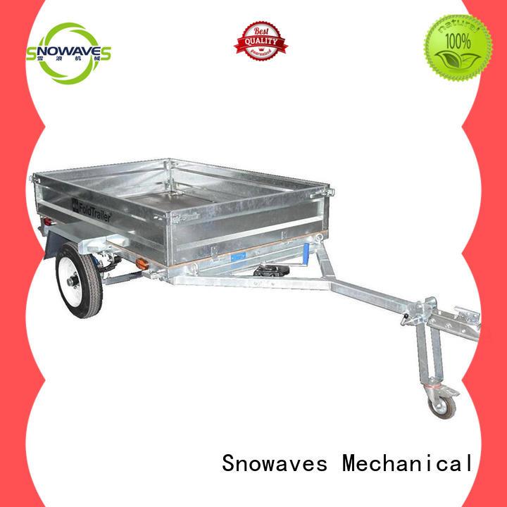Wholesale Towbal folding utility trailer Snowaves Mechanical Brand