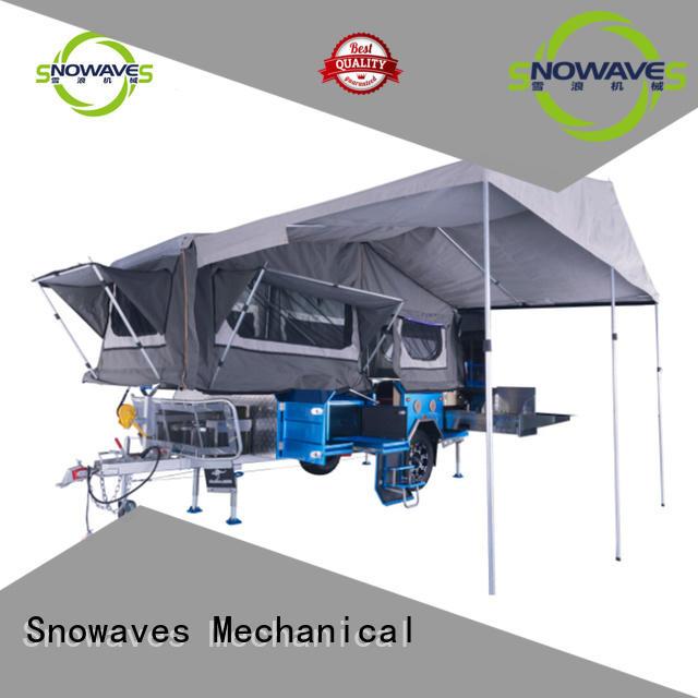 Snowaves Mechanical Brand guard folding trailers forward factory