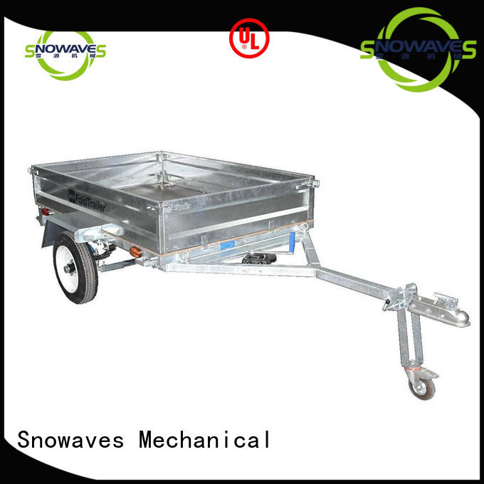 Snowaves Mechanical High-quality fold up trailer suppliers for one-way trips
