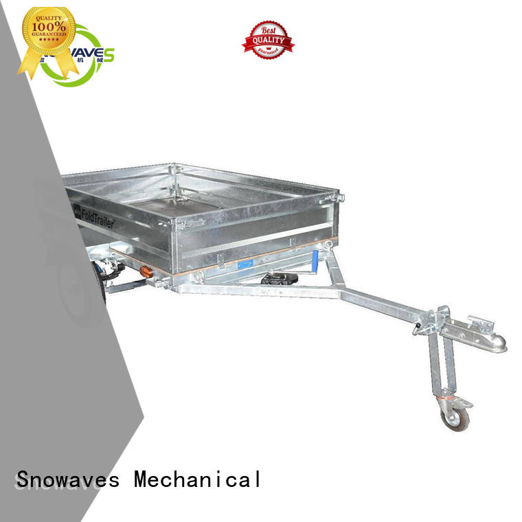 folding utility trailer manufacturers vendor for accident Snowaves Mechanical