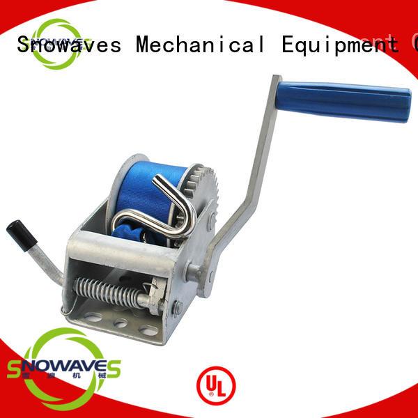 Snowaves Mechanical Custom manual winch for business for car