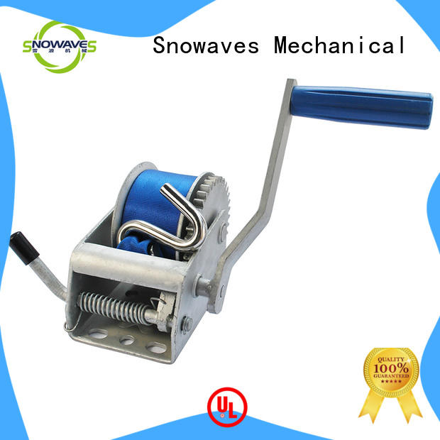 Snowaves Mechanical trailer manual winch check now for picnics