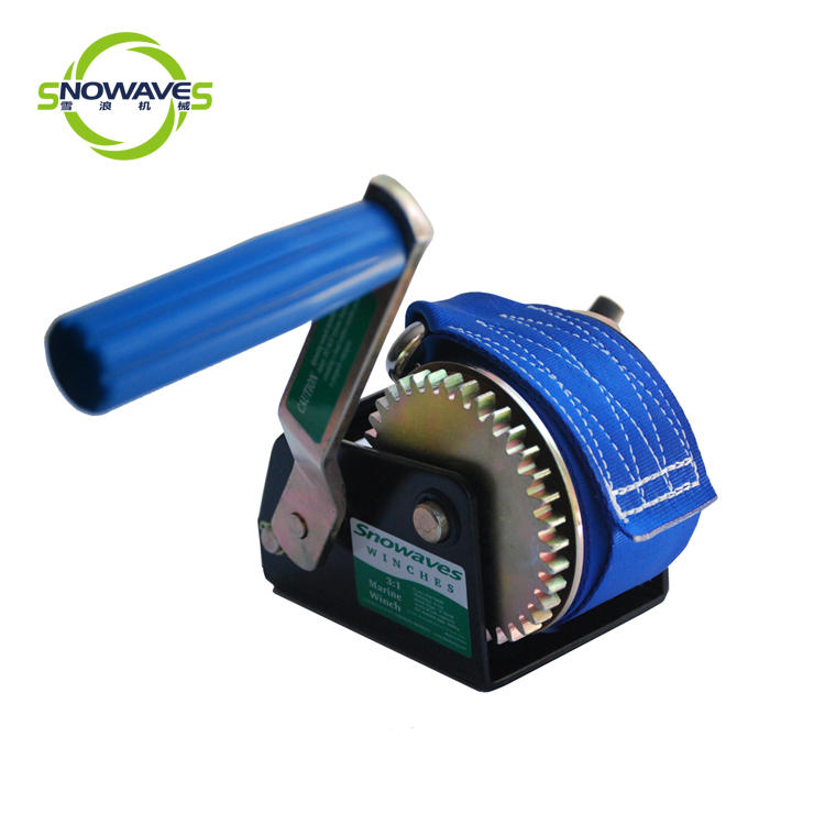 Snowaves Mechanical trailer manual trailer winch manufacturers for picnics-1
