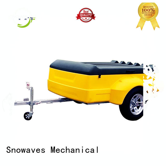 Top plastic utility trailer touring for business for no cable
