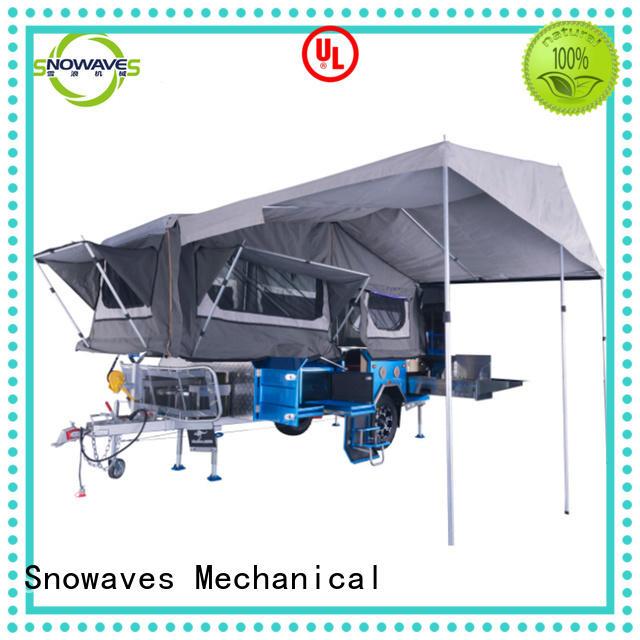 pop up folding camper tent trailer for trips Snowaves Mechanical