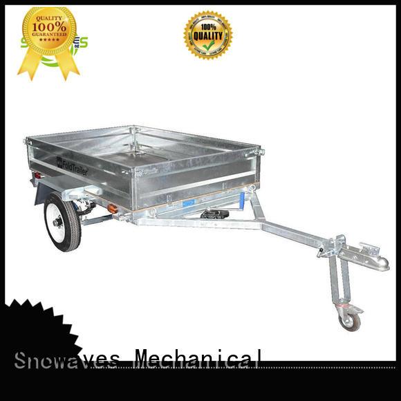 Snowaves Mechanical Brand guard quality folding utility trailer forward