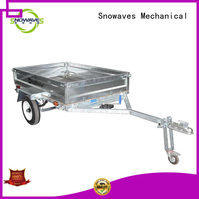 Snowaves Mechanical Wholesale folding trailers Supply for one-way trips