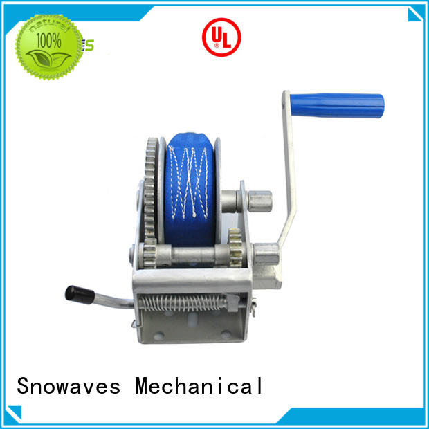 Snowaves Mechanical durable manual trailer winch trailer for boat