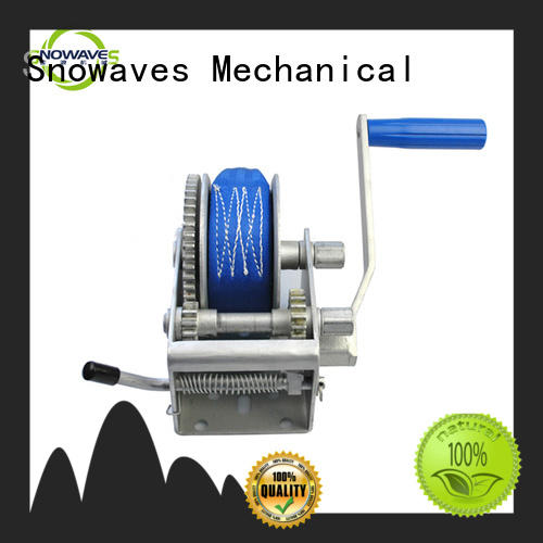Snowaves Mechanical Top manual winch Supply for boat