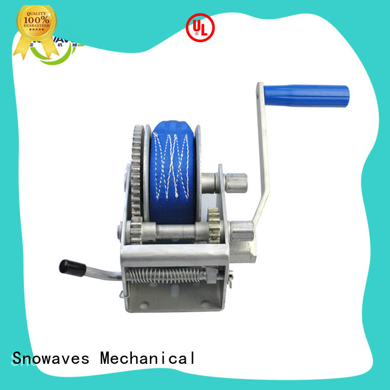 boat trailer hand winch trailer winch speed Snowaves Mechanical Brand manual winch