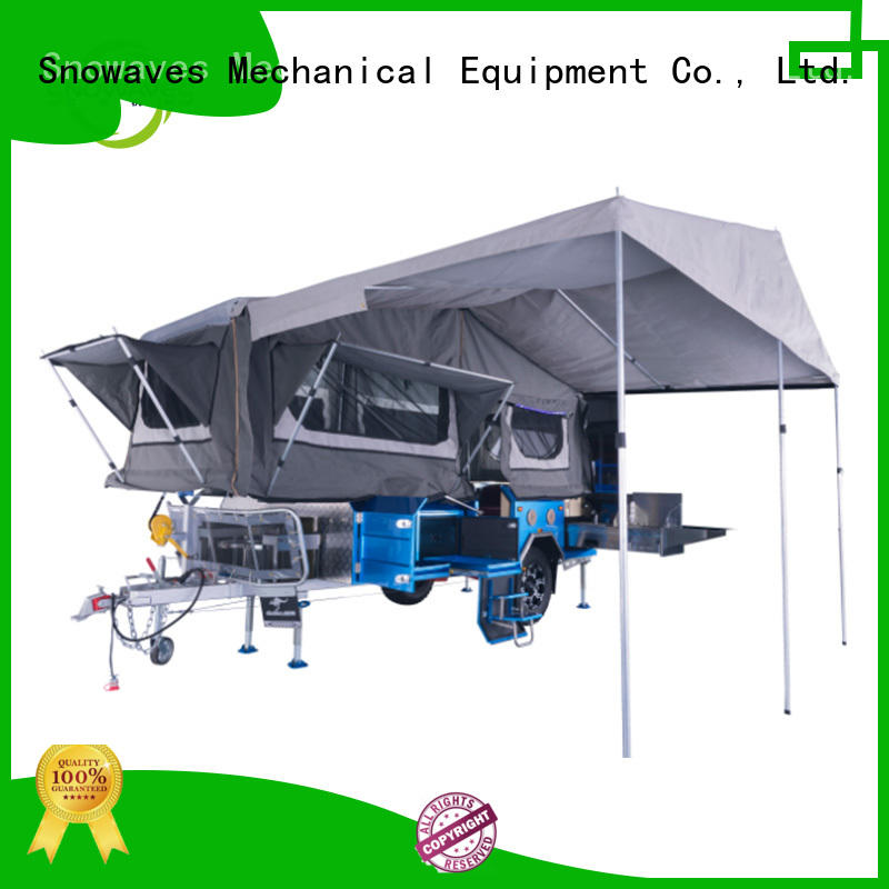 Snowaves Mechanical Top folding trailers Suppliers for activities