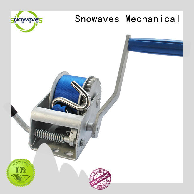 single boat hand winch single for outings Snowaves Mechanical