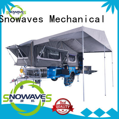 Snowaves Mechanical New folding trailers company for activities