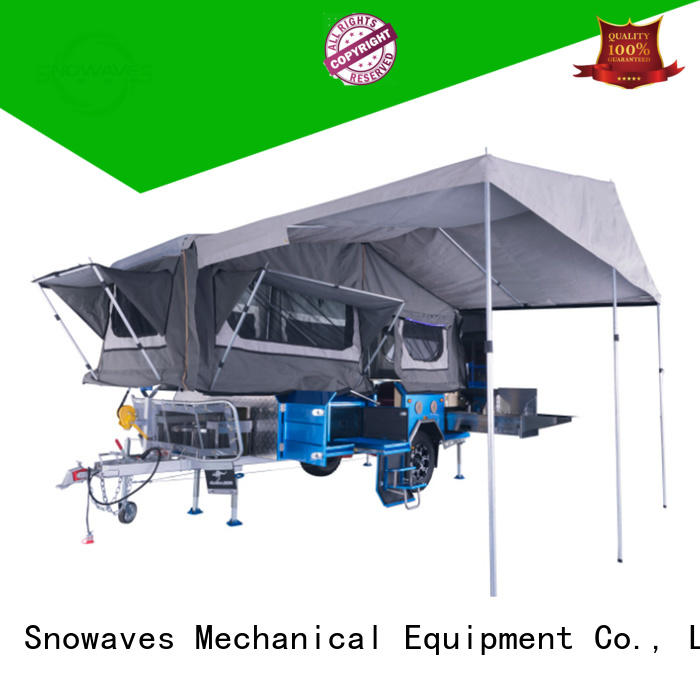 Snowaves Mechanical High-quality folding trailers for business for accident