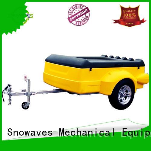 trailer plastic garden trailer camper forward Snowaves Mechanical Brand
