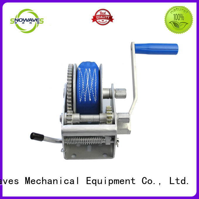 manual trailer winch bulk production for picnics Snowaves Mechanical