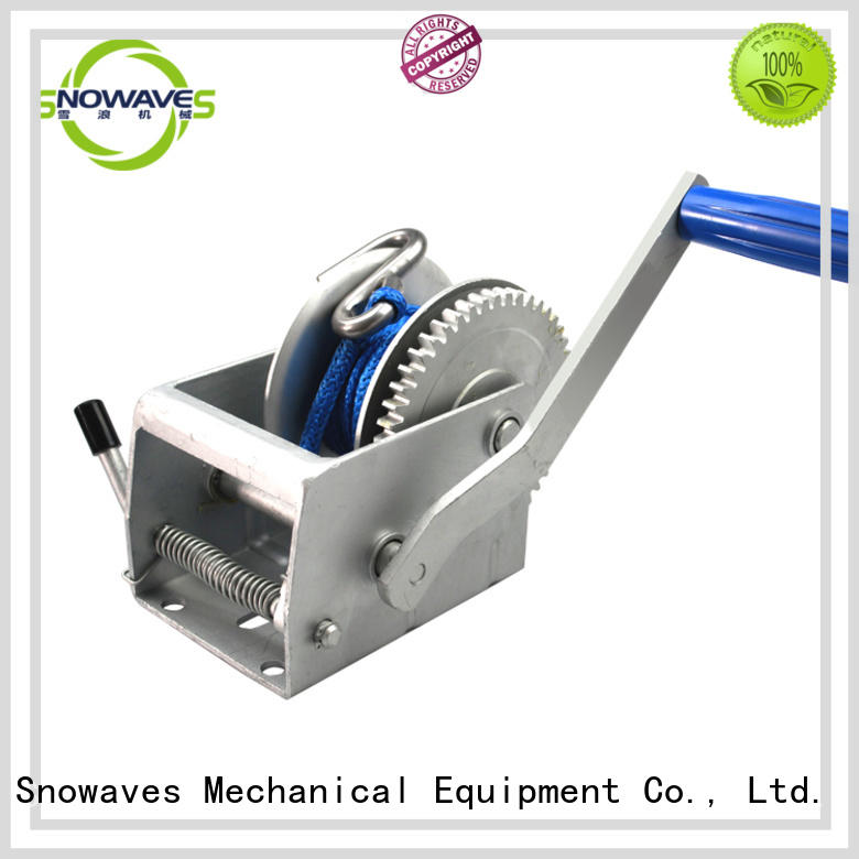 nice hand held winch bulk production for outings Snowaves Mechanical