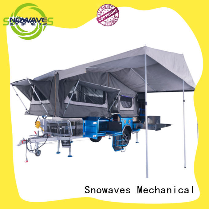 Snowaves Mechanical fold folding trailers Suppliers for activities