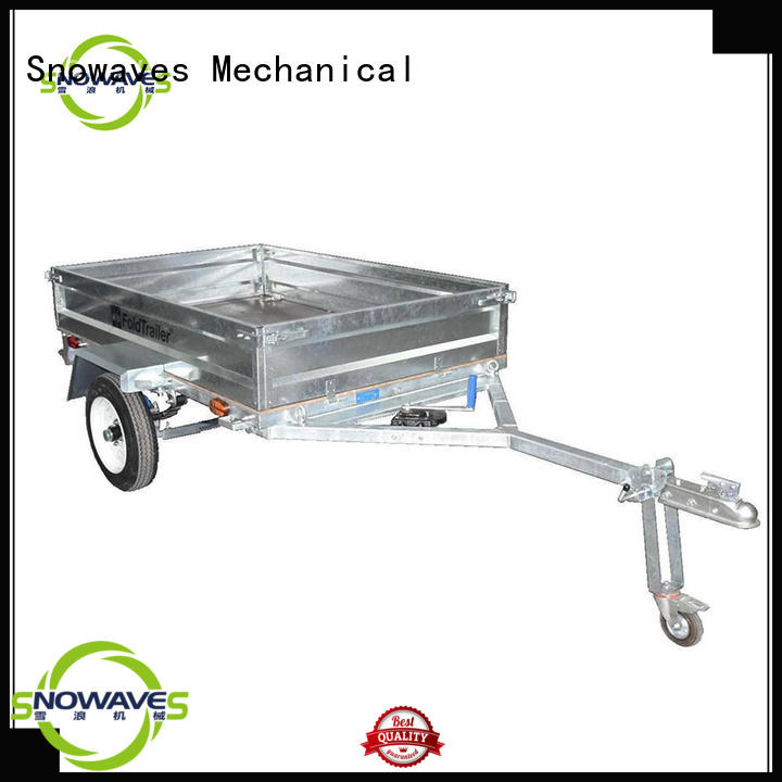 Latest foldable trailer manufacturers for accident