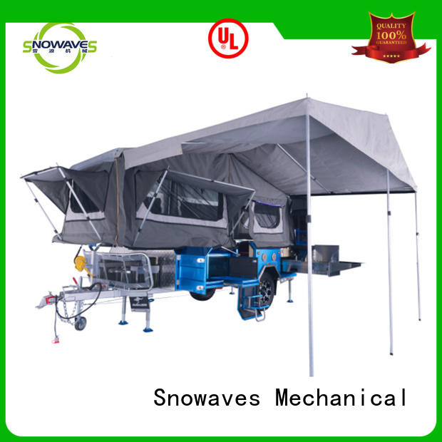 Snowaves Mechanical Custom fold up trailer Supply for one-way trips