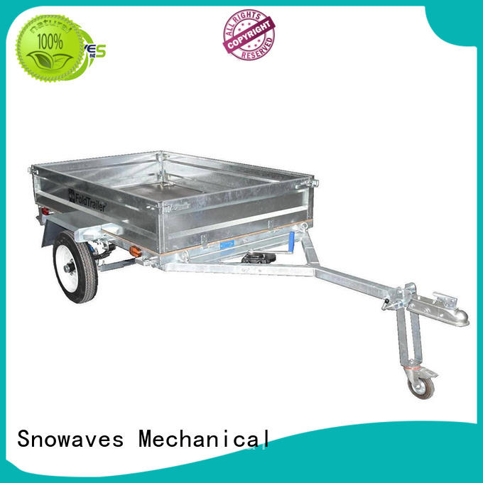 new-arrival fold away trailer vendor for activities