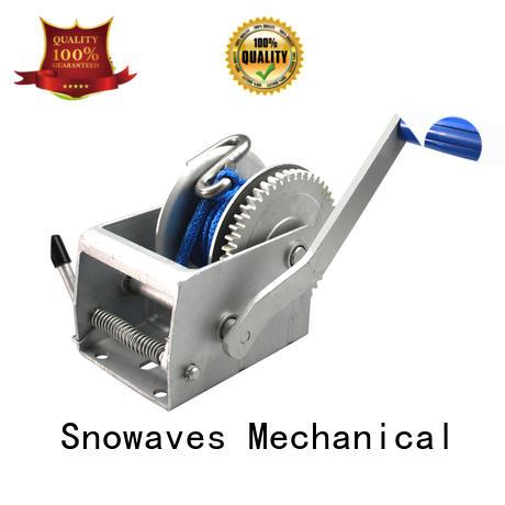 Trailer hand winch 3:1 (single speed) 500kg pulling SW1100
