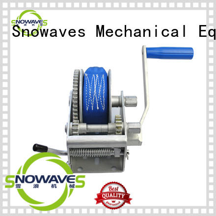 trailer manual car winch from manufacturer for car Snowaves Mechanical