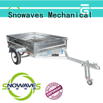 Snowaves Mechanical data fold up trailer Suppliers for trips