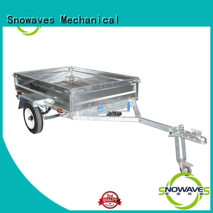 trailer guard folding trailers technical Snowaves Mechanical Brand company
