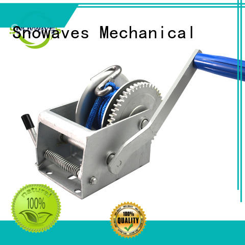 New manual winch pulling manufacturers for camping