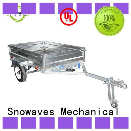 fold up trailer data for accident Snowaves Mechanical