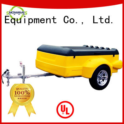 touring plastic utility trailer with cheap price for no cable Snowaves Mechanical