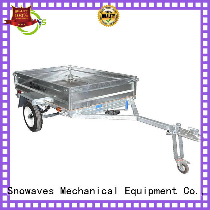 Snowaves Mechanical Latest foldable trailer for business for trips