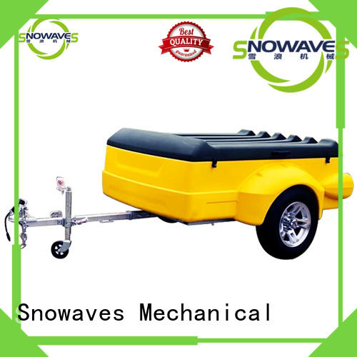 Snowaves Mechanical high-quality plastic dump trailer luggage for outdoor activities
