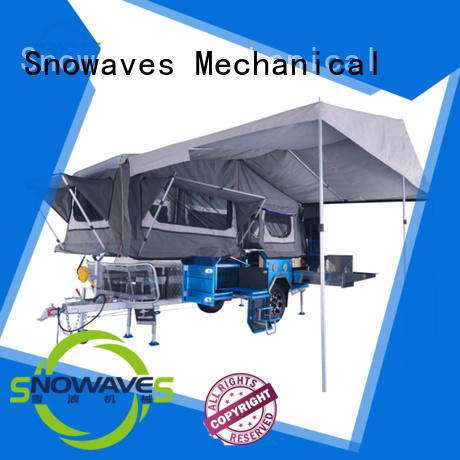 newly collapsible travel trailer China supplier for one-way trips Snowaves Mechanical