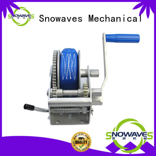 Snowaves Mechanical single hand winches for sale for picnics