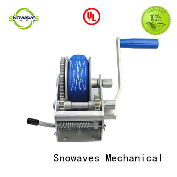 Snowaves Mechanical speed manual winch factory for camping